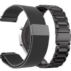 Металлический ремешок для часов Huawei GT 2E/GT2 46 мм Honor Magic 2, умный браслет из нержавеющей стали, ремешок для часов TicWatch Pro, браслет Correa