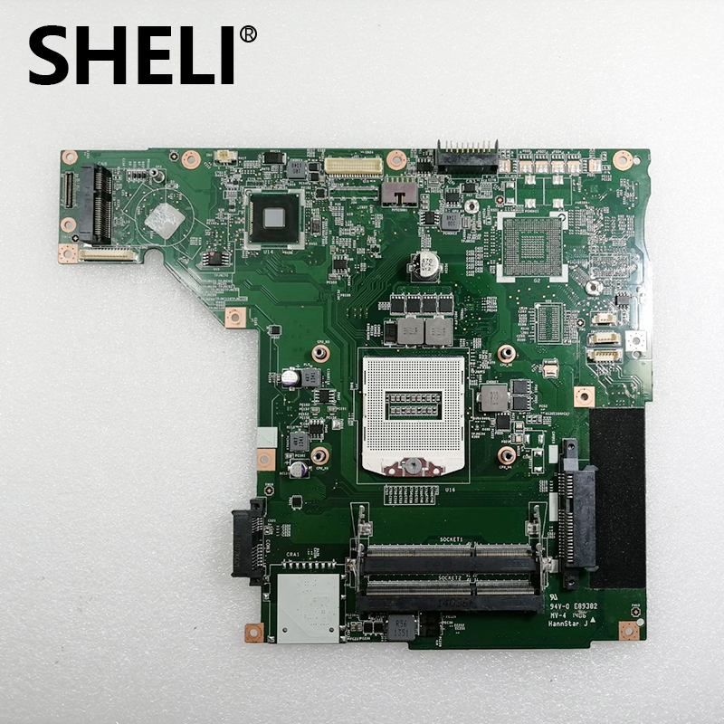 SHELI Laptop Motherboard MS-1758 For MSI GE70 GP70 Motherboard MS-17581 REV 1.1 Integrated