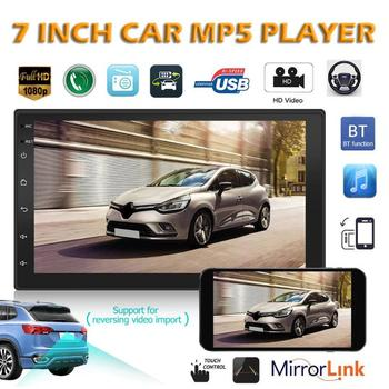 7 inch 2 Din Android 8.1 Car Radio Bluetooth Stereo Audio Player GPS WiFi AUX USB Autoradio Support Mirror Link image