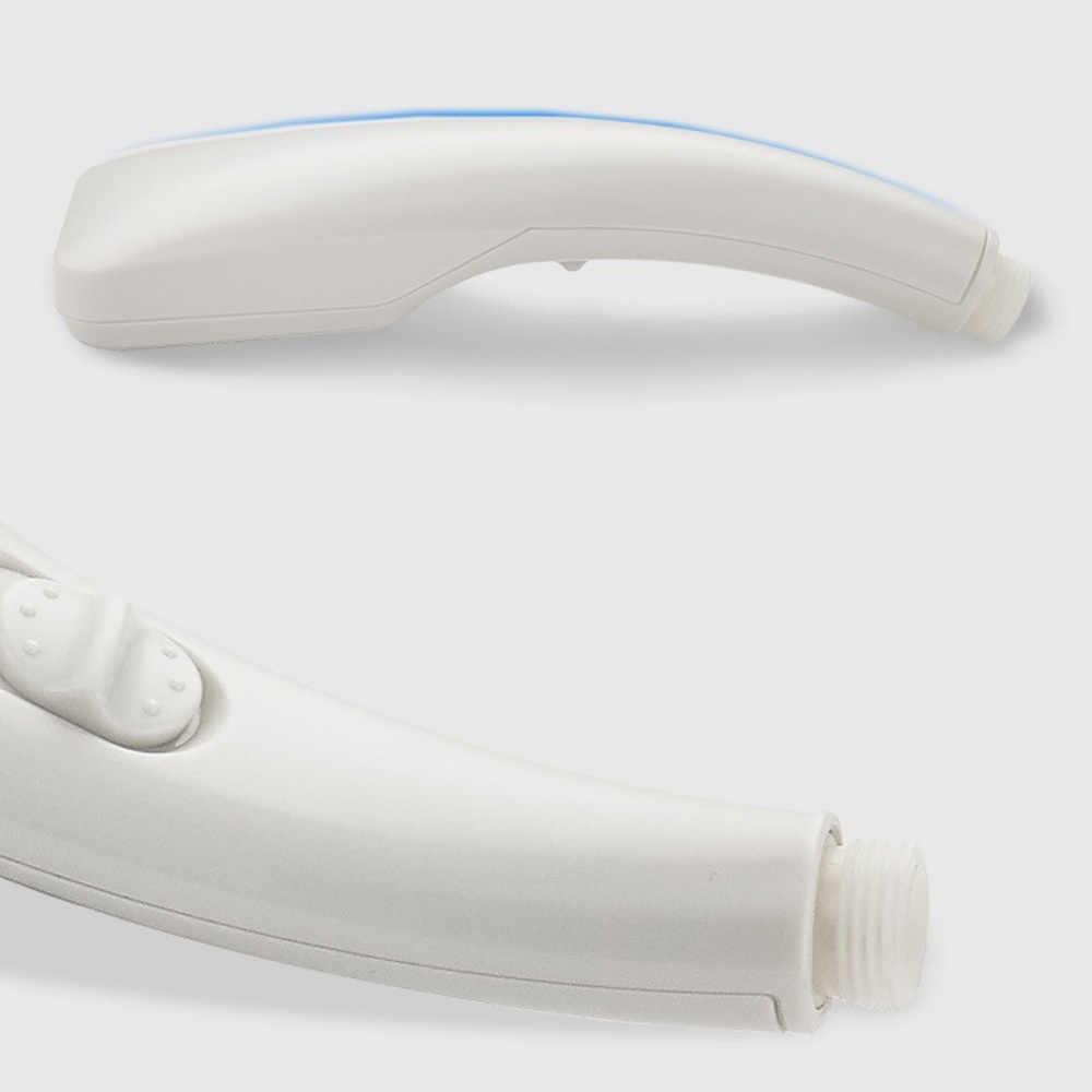 Głowica prysznicowa wysokiego ciśnienia chrom z ON/OFF przełącznik pauzy oszczędzania wody regulowany luksusowe Spa odpinany