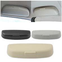 Samochód pudełko na okulary pojemnik do przechowywania dla Volvo S40 S60 S80 S90 S40 XC60 XC90 V40 V60 V90 C30 XC40 XC70 V70 tanie tanio 0 13kg Car Glasses Holder for Peugeot 1inch