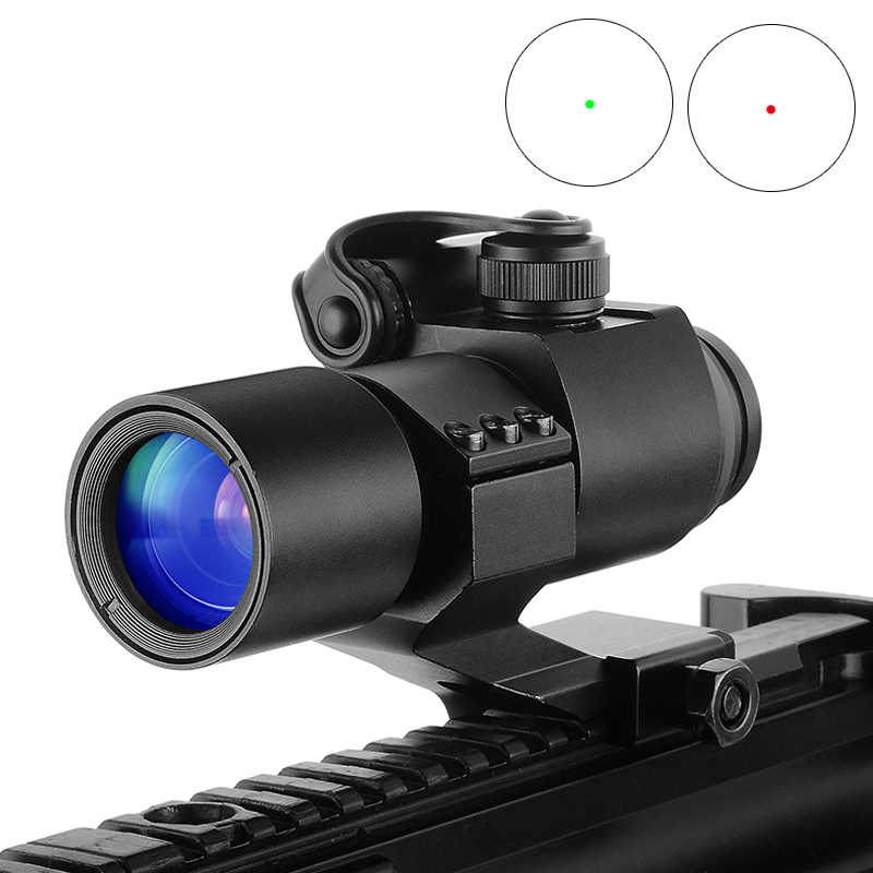 הולוגרפית אדום Dot Sight M2 ציד אופטי רובה היקף עם 20mm 11mm רכבת הר Collimator Sight צלף אקדח ציד