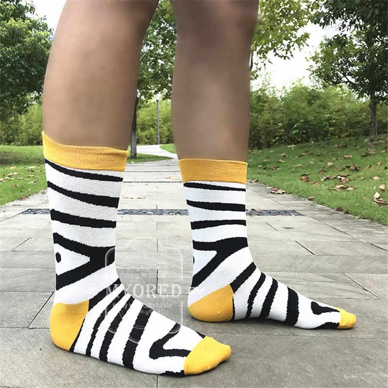 MYORED, 12 пар/лот, мужские вечерние яркие носки, носки с рисунками животных для мужчин и женщин, новинка, в горошек, хлопчатобумажные забавные носки, без коробки