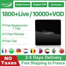 IPTV Arabic France Belgium Netherlands Leadcool X Android 7.1 1G 8G S905W QHDTV 1 Year Belgium Netherlands IPTV France Arabic leadcool pro qhdtv plus iptv france arabic italy canada android 8 1 1 8g 2 16g iptv france arabic italy spain canada qhdtv plus