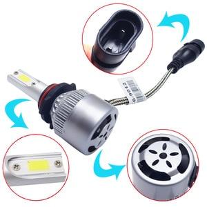 2 шт. C6 H1 H3 светодиодные лампы для передних фар H7 огни автомобиля H4 880 H11 HB3 9005 HB4 9006 H13 6000K 72W 12V 8000LM авто фары