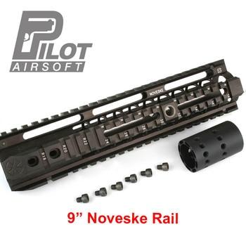 "PILOT Airsoft Noveske 9""12"" inch Rail Handguard CNC process for airsoft M4 MK18"