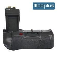 Mcoplus BG-550D bloco de aperto da bateria vertical para canon eos 550d 600d 650d t4i t3i t2i como BG-E8
