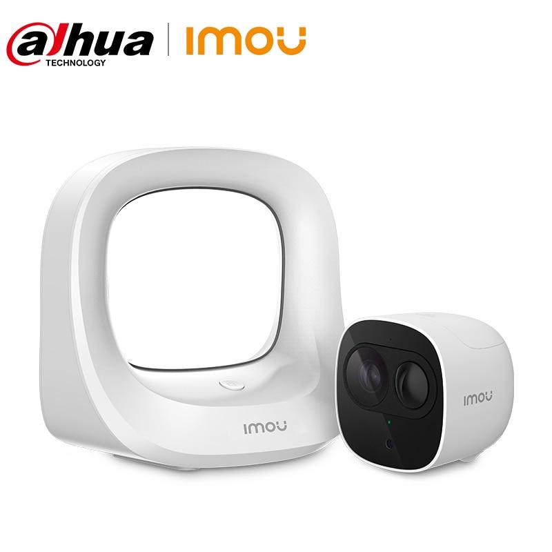 Dahua imou Camera Rechargeable Battery Camera 1080P Outdoor Weatherproof PIR Detection 100% Wireless Security CCTV Wifi Camera