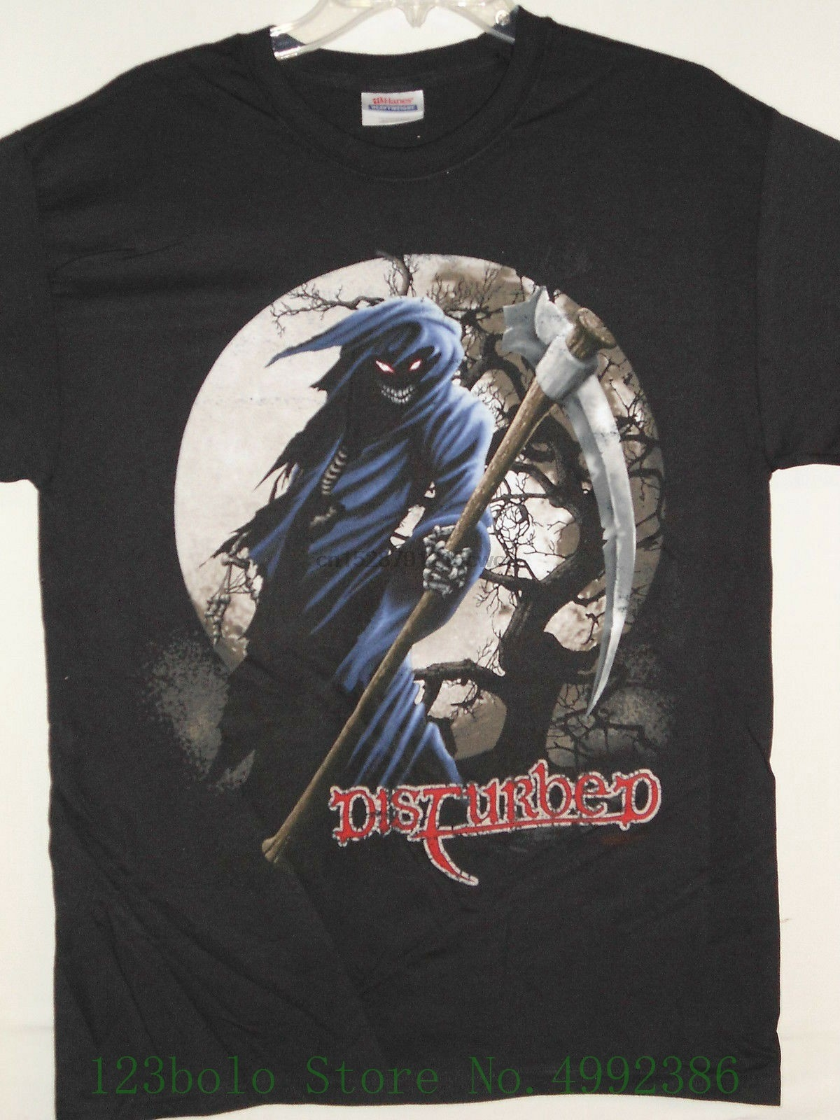 New - Disturbed Band Concert Music T Shirt Medium Popular Style Man T-shirt