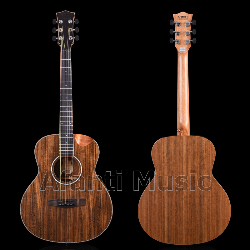 <font><b>36</b></font> Inch All Walnut Wood Acoustic <font><b>Guitar</b></font> of Afanti Music (AAG-1603-S) image