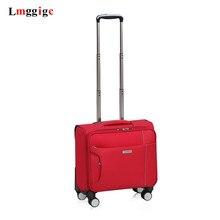 """1"""" дюймов тележка чехол для путешествий, универсальные колеса багажа, Бизнес чемодан, 18-дюймовые подарок чемодан, мода туда и обратно костюм чехол, сумка для отдыха"""
