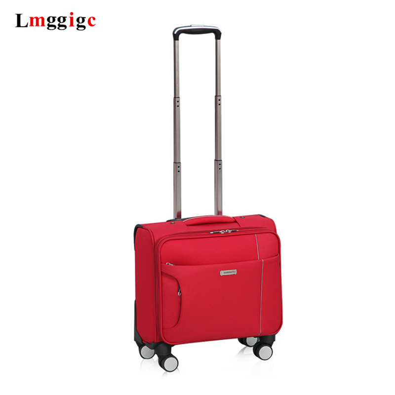 """16""""inch Trolley Case,Universal Wheel Luggage,Business Boarding Box,18-inch Gift Valise,Fashion Trip Suitcase,Rolling Leisure Bag"""