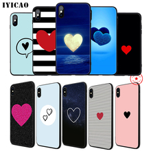 IYICAO Heart Red Lover Soft Phone Case for iPhone 11 Pro XR X XS Max 6 6S 7 8 Plus 5 5S SE Silicone TPU 7 Plus iyicao airplane red space soft phone case for iphone 11 pro xr x xs max 6 6s 7 8 plus 5 5s se silicone tpu 7 plus
