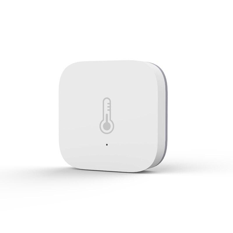 Умный датчик температуры и влажности Aqara, контроль давления воздуха в окружающей среде через приложение Mihome, подключение Zigbee