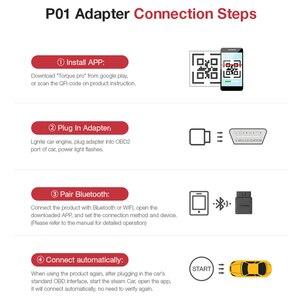 Image 4 - ELM327 Obd2 Scanner V3.0 Bluetooth Android Adattatore Scaner Automotriz Auto Diagnostico Strumento di Lettore di Codice di Scansione ODB II