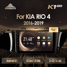 KingBeats Android 8.1 Octa-Core unità di testa 4G in Dash Car Radio Multimedia Video Player di Navigazione GPS Per kia RIO 4 2016 2019(China)