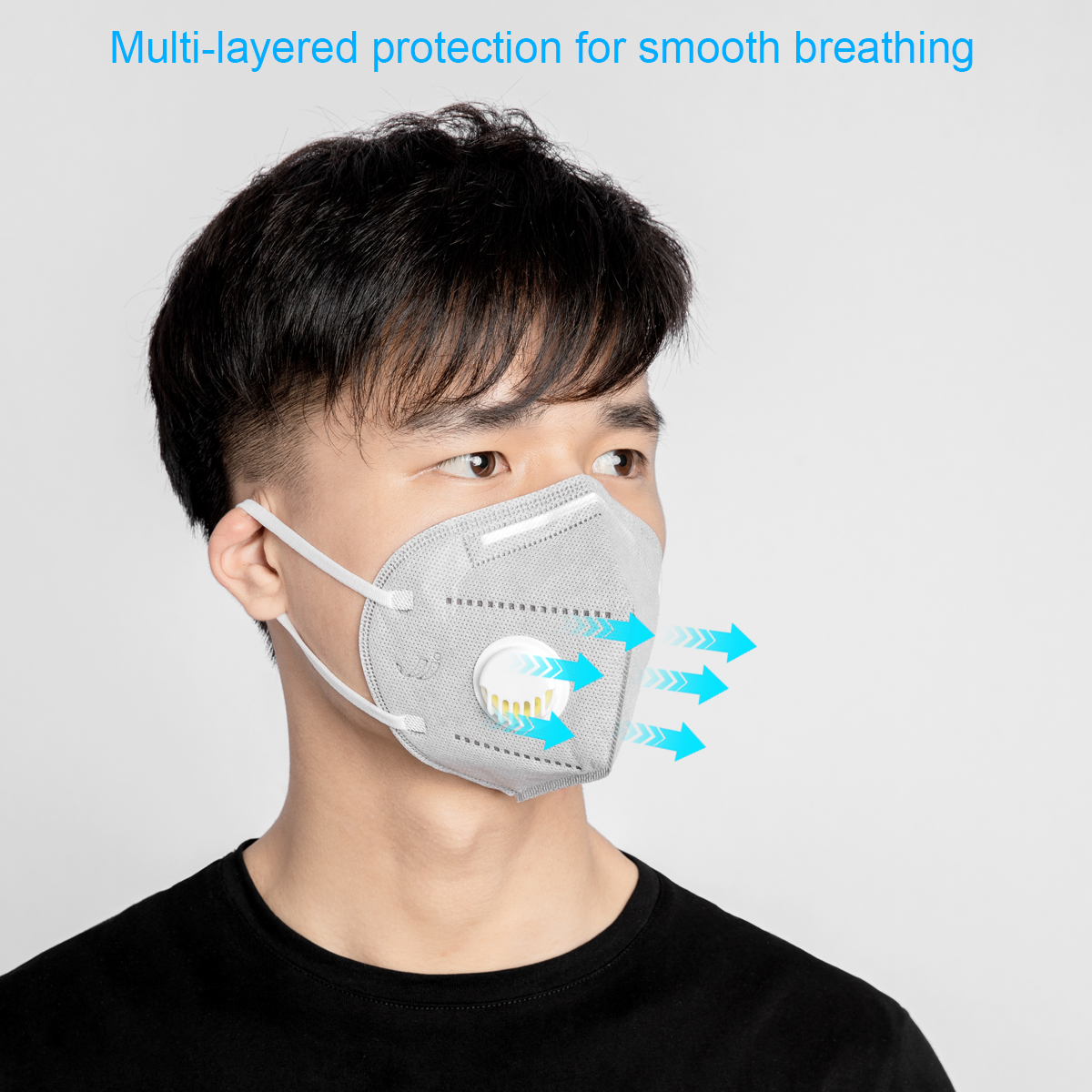 Mask N95 PM2.5 Anti Virus Formaldehyde Bad Smell Bacteria Mask Cycling Face Mask Dust-proof Mesh Mouth Masks Protection Outdoor
