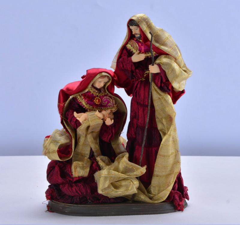 Our Lady Of The Child Jesus Holy Family Statue Sculpture Home Decoration