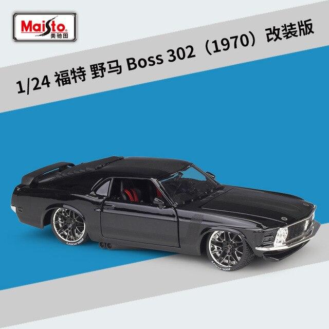 Maisto 124 1970 patron 302 2009 GT-R 370Z VW coccinelle Gallardo LP560-4 Version modifiée haute simulateur Sport voiture alliage modèle voiture