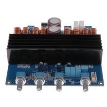 2*100W + 200W TDA7498 Subwoofer Digital placa amplificadora amplificador de potencia de Audio para 20Hz a 20KHz