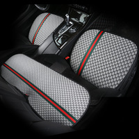 Car Seat Cover Front Rear Cushion Breathable Seat Protector Mat Pad Universal Four Seasons|Automobiles Seat Covers|Automobiles & Motorcycles -
