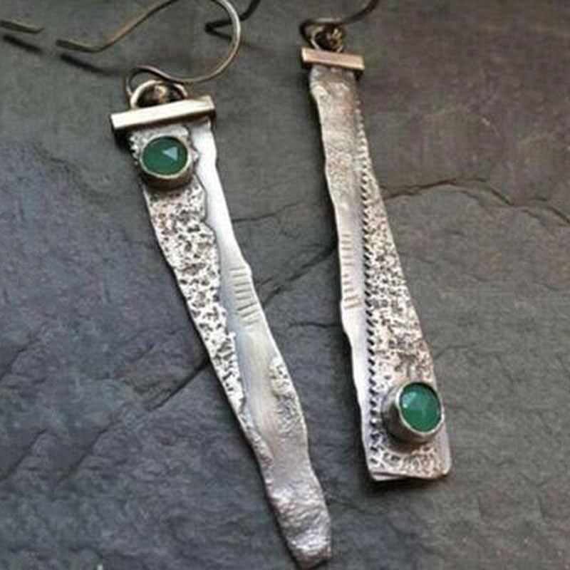 בציר לערבב צבע להתנדנד עגיל לנשים בוהמי שבטי הולו מתוך מתכת פרחוני ארוך עגילי Pendientes תכשיטי O5E777