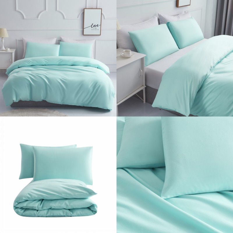 230TC Bed Linen Cotton Solid Color Parure Duvet Set Bedding Set Bed Set Boho Bed Sheets Bed Cover Sets Duvet Cover Queen