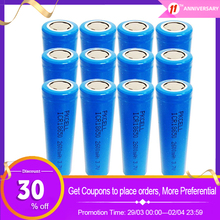 Rechargeable-Battery Flat-Top Batteria 2600mah Liion ICR18650 No-Protection 12pcs