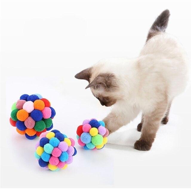 Plush Soft Funny Kitten Toy 5