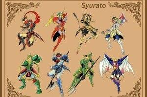 Image 5 - Figuras de acción de COMIC CLUB, juguetes en stock, Dasin TenKuu, Senki, Shurato, Kuroki, Gai, Leiga, nordina, armadura de metal