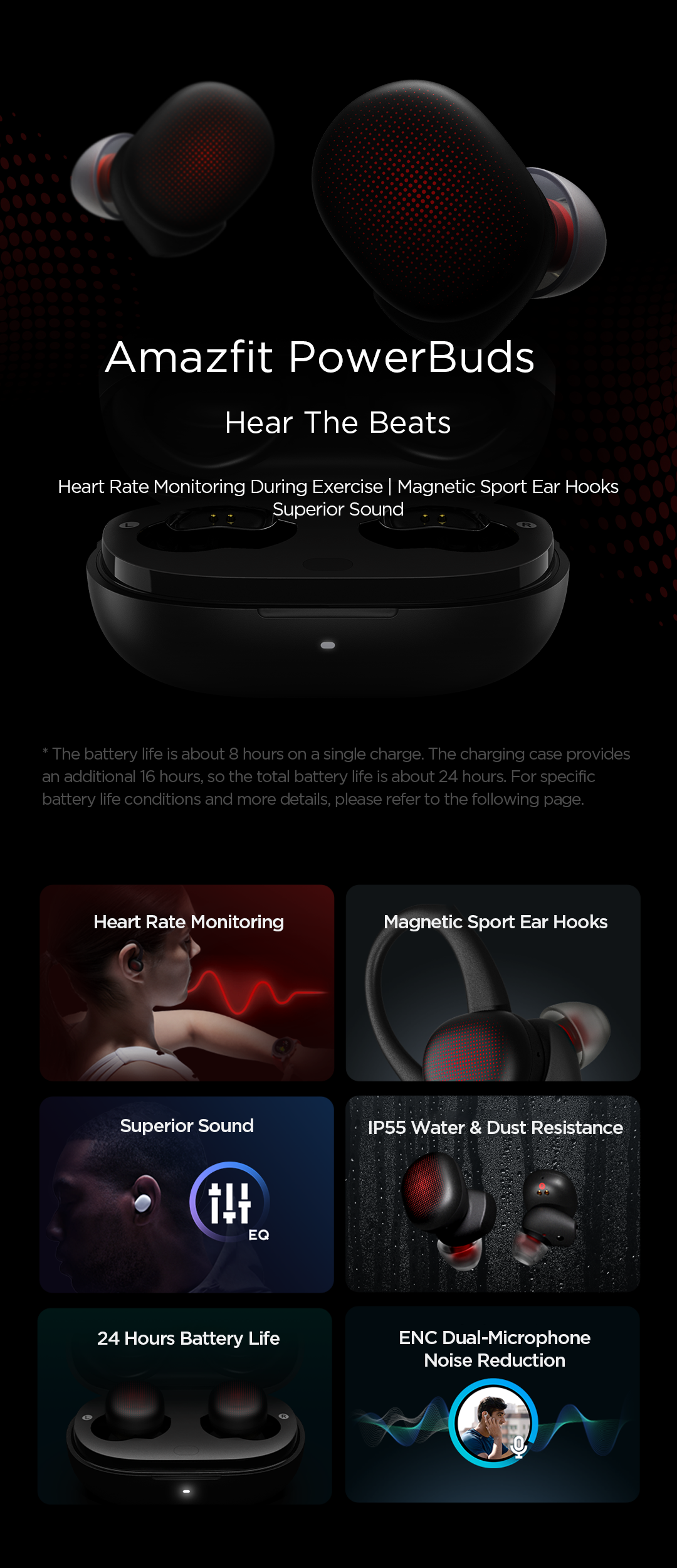 Amazfit PowerBuds True Wireless Earbuds 5