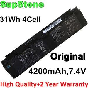SupStone Подлинная OEM 4200 мА/ч, VGP-BPS15 VGP-BPL15 ноутбук Батарея для VAIO VGN-P11 VGN-P15 VGN-P17 VGN-P19 VGP-BPS15/B VGP-BPS15/S