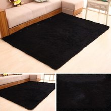 Soft Fluffy Rugs Anti-Skid Shaggy Area Rug Floor Mats For Living Rooms Bedroom Bathroom Home Supplies Large Size goodgrain large area rug for kitchen bathroom