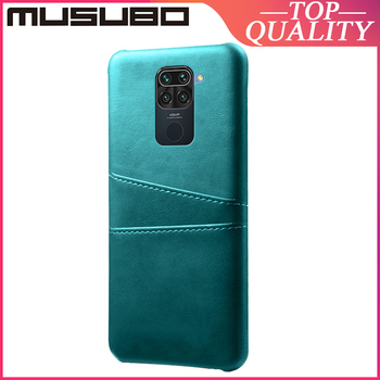 Musubo Genuine Leather Case For XIAOMI REDMI Note 9 Pro Max REDMI Note 8 Pro Back Cover Card Holder Note 7 Pro K30 K20 Redmi 9A