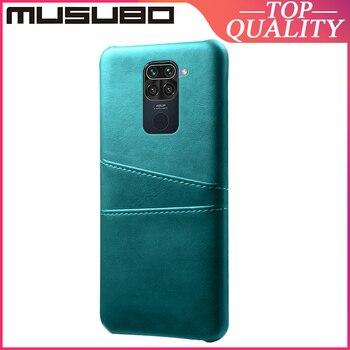 Musubo Genuine Leather Case For XIAOMI REDMI Note 9 Pro Max REDMI Note 8 Pro Back Cover Card Holder Note 7 Pro K30 K20 Redmi 9A