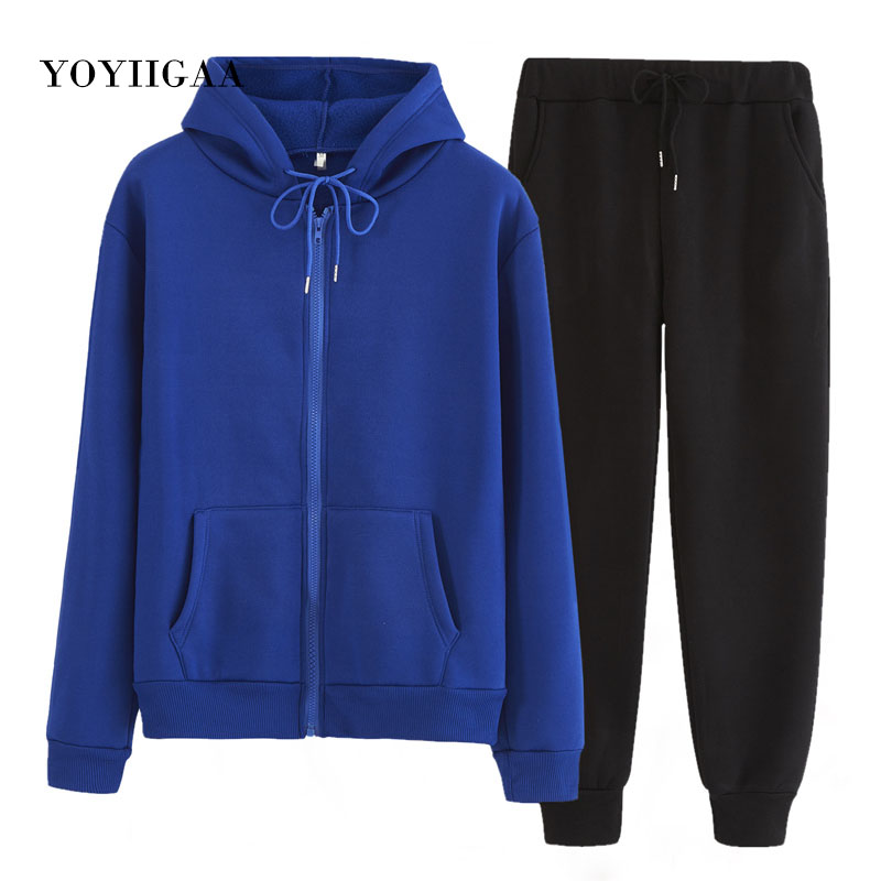 Autumn Winter 2 Piece Set Women Hoodies Pants Printed Pullover Sweatshirt Women's Hoodie Hooded With Pockets Tracksuit Suits