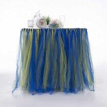 Многие тюлевые юбки-пачки для стола тюлевые скатерти и салфетки для свадебного украшения вечерние юбки для стола ing Home текстильные скатерти аксессуары