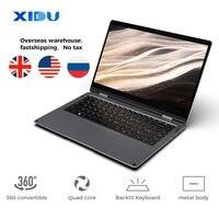 XIDU Laptop PhilBook Max 14.1 ''tablet TouchScreen Notebook Fenster 10 Tablet Beleuchtete Tastatur Computer 8GB pc laptop Notebook-in Laptops aus Computer und Büro bei