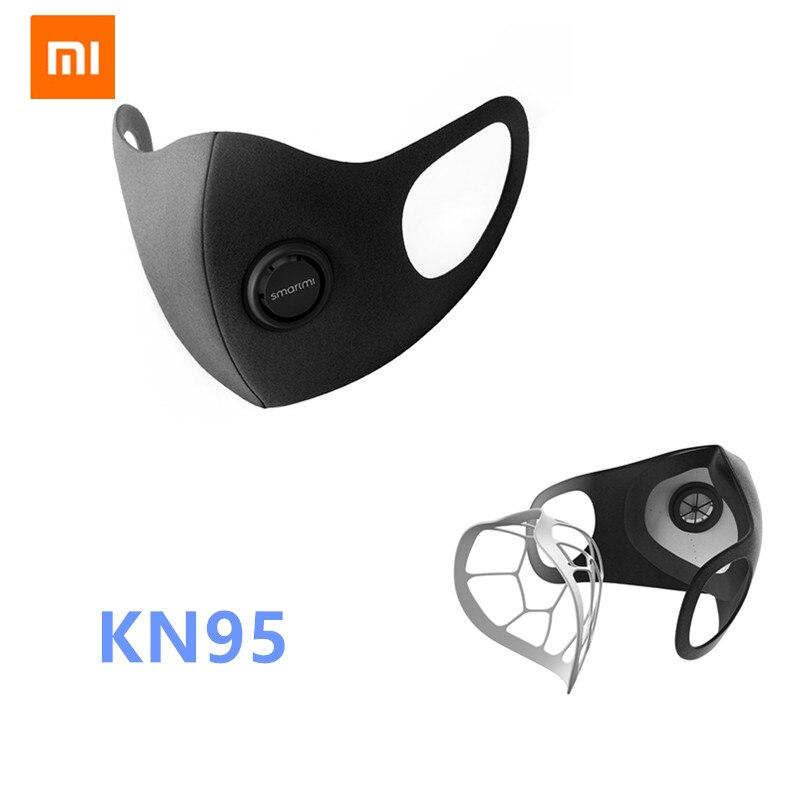 Xiaomi Mijia Smartmi Anti-Haze KN95 Professional Protective Face Cover Face Mask PM2.5 Haze Mask FFP2 From Xiaomi Youpin