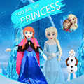 Cartoon Elsha Mascot Costume Character Snow Ice Princess Dress Theme Party Cosplay Costume Halloween for Adult Fursuit