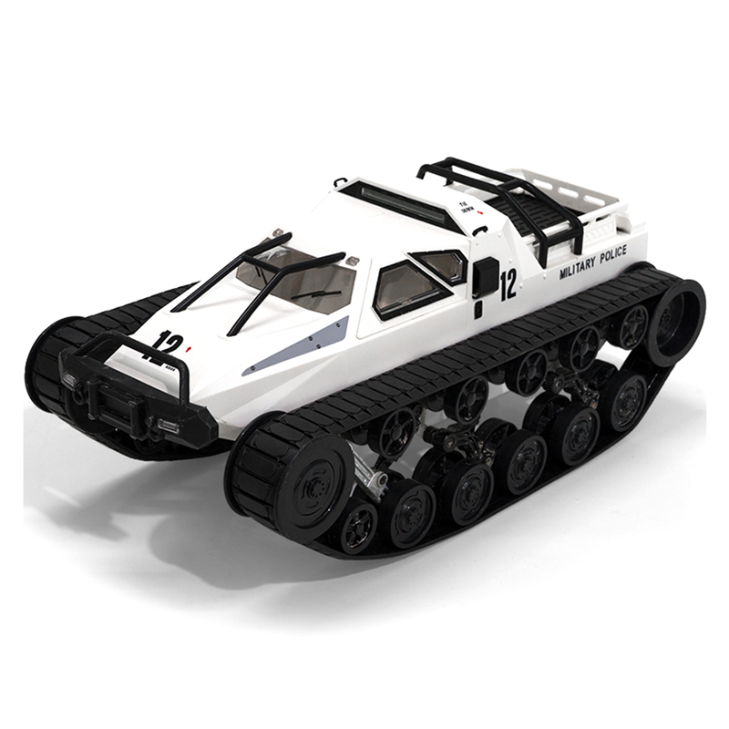 SG 1203 2.4Ghz RC Tank 1:12 Full Proportional Radio Control  Car Vehicle Models Toys 5M Wading Depth With Gull-wing Door