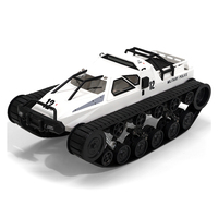 SG 1203 2.4Ghz RC Tank 1:12 Full Proportional Radio Control Car Vehicle Models Toys 5M Wading Depth With Gull wing Door