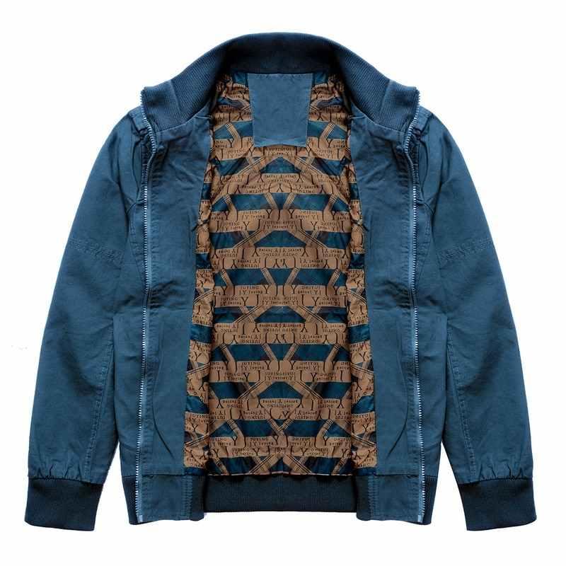 SHUJIN Autum chaquetas cálidas de invierno para hombre Abrigos casuales para hombre chaquetas de abrigo para hombre talla grande chaqueta militar SHUJIN FF
