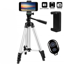 Camera Tripod Monopod Cam-Stand Lightweight Smartphone Desktop Bluetooth Mobile Portable