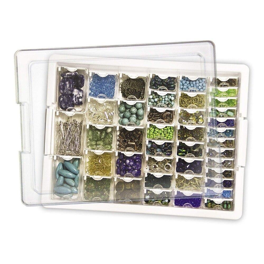 42/50/78 слотов сетки хранения стикер коробка инструмент алмазная