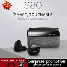 Astrotec S80 Drahtlose Bluetooth 5,0 Headset Tws Twins Wasserdichte Sport Kopfhörer Noise Reduction Bass Wahre Drahtlose Ohrhörer