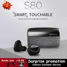 Astrotec S80 sans fil Bluetooth 5.0 casque Tws jumeaux étanche Sport écouteur réduction de bruit basse véritable sans fil écouteurs