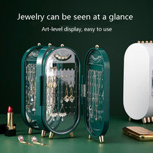 Light Luxury High-end Jewelry Racks Exquisite Earrings European-style Necklaces Jewelry Displays Large-capacity Storage Boxes