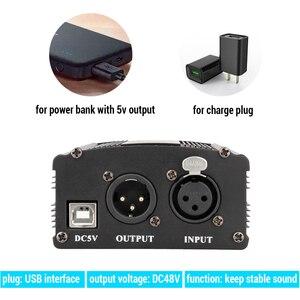 Image 3 - USB فانتوم الطاقة ل bm 800 ميكروفون ستوديو جهاز التحكم في الصوت bm800 كاريوكي مكثف ميكروفون فانتوم الطاقة ل bm 800 هيئة التصنيع العسكري