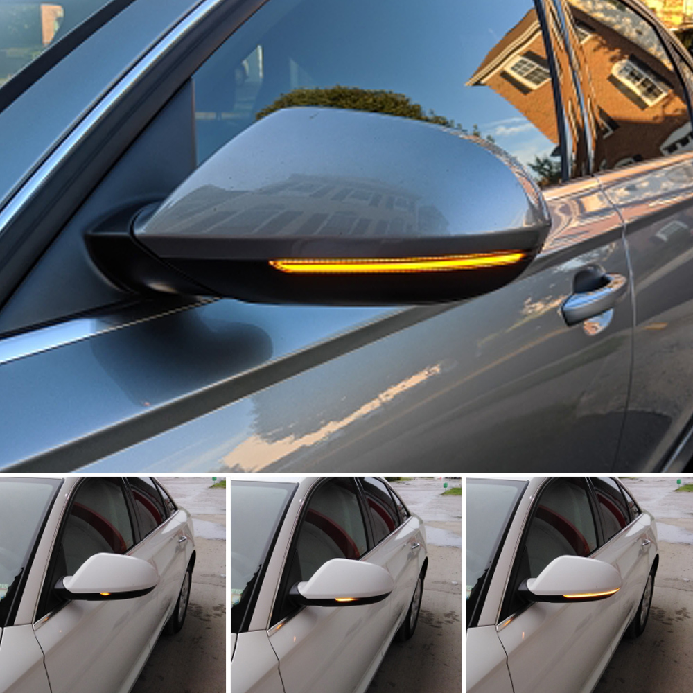 Dynamic Side Mirror Blinker for <font><b>Audi</b></font> <font><b>A6</b></font> <font><b>C7</b></font> <font><b>C7</b></font>.5 4G RS6 Sline S6 <font><b>LED</b></font> Turn Signal 2013 2014 2015 2016 2017 2018 tuning parts image